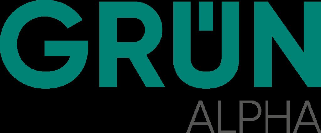 Logo von GRÜN alpha