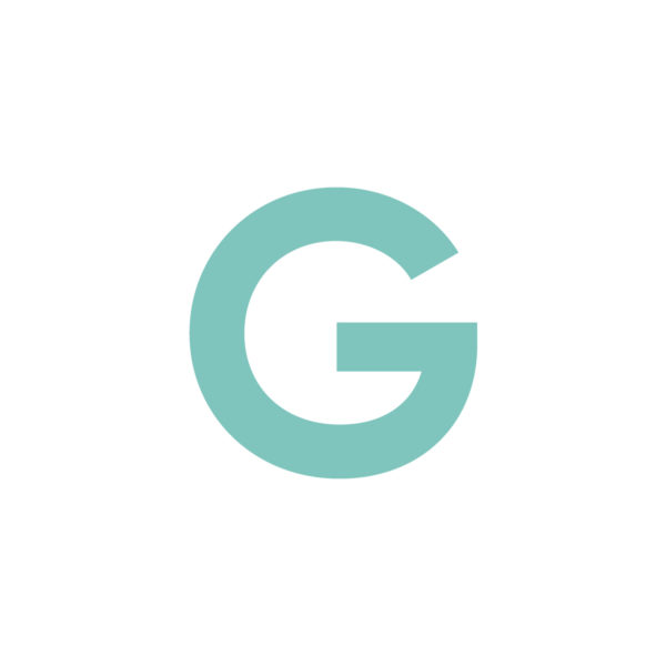 Abgeschwächtes GRÜN Logo